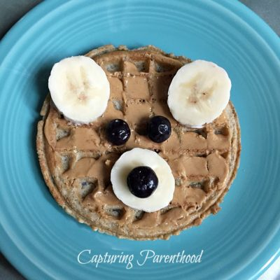 Bear Waffles – Toddler Breakfast