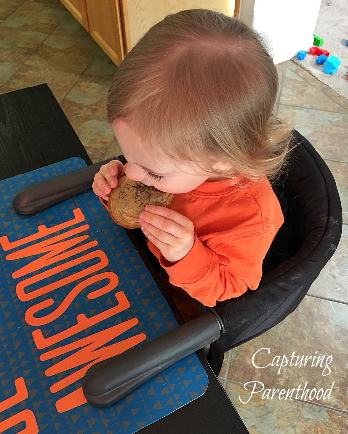 Chocolate Chip Cookies for Cookie Monster © Capturing Parenthood