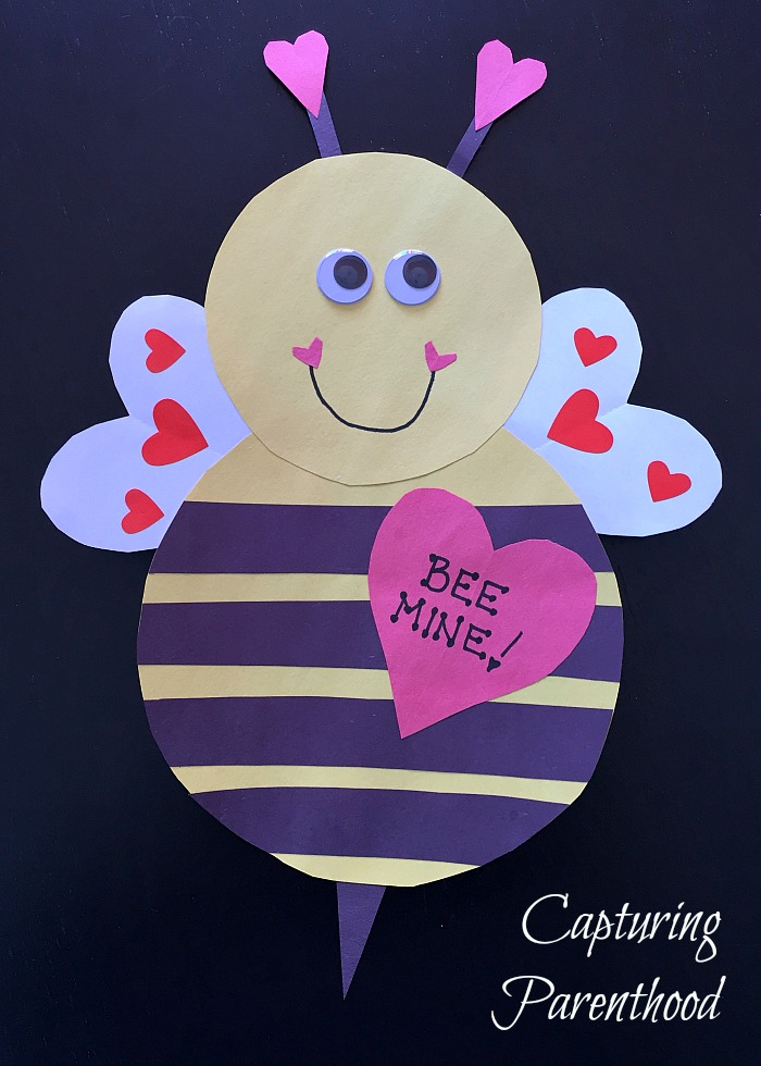 Heart-Filled Valentine's Day Crafts (2017) © Capturing Parenthood