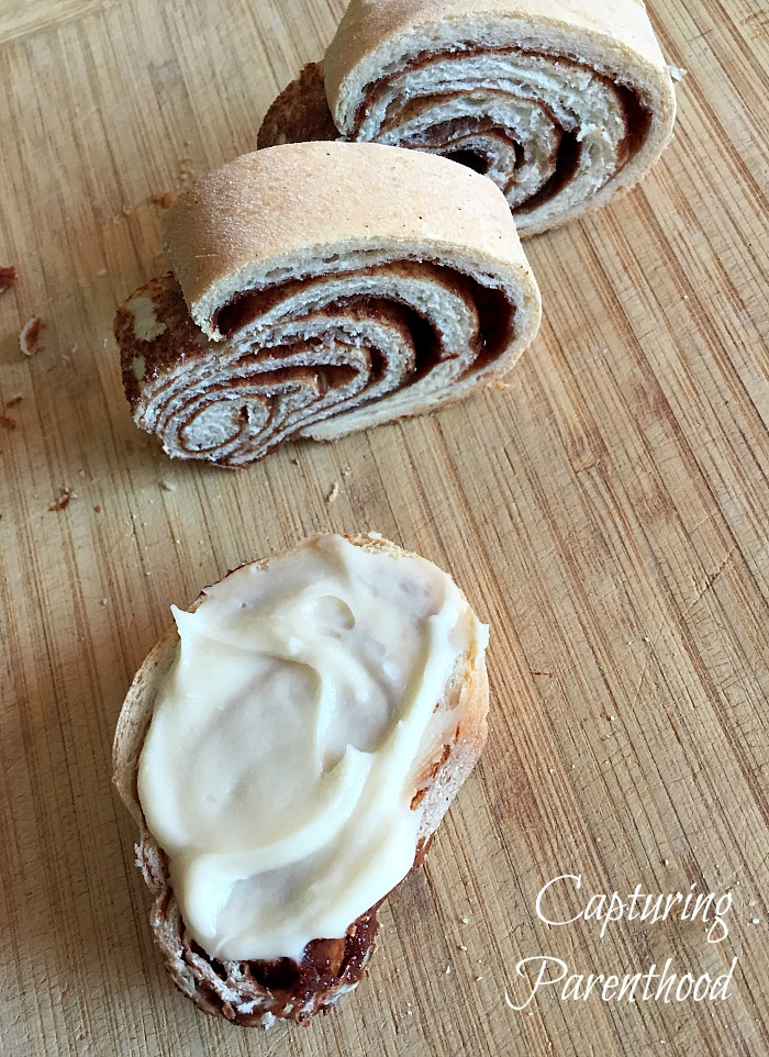 Cinnamon Swirl Bread © Capturing Parenthood