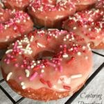 Baked Valentine's Day Donuts (Dairy-Free)