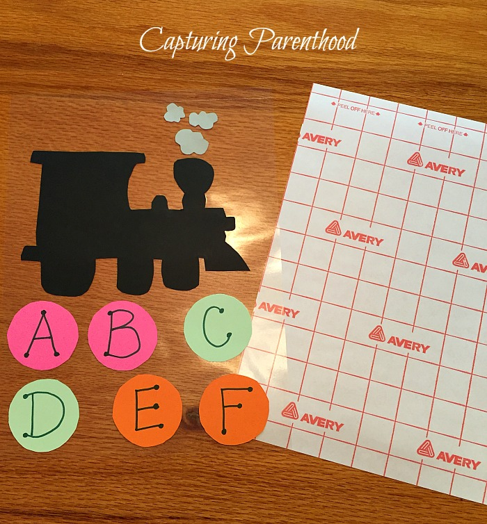 Alphabet Train © Capturing Parenthood