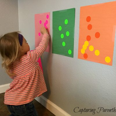 Sticker Color Sort © Capturing Parenthood