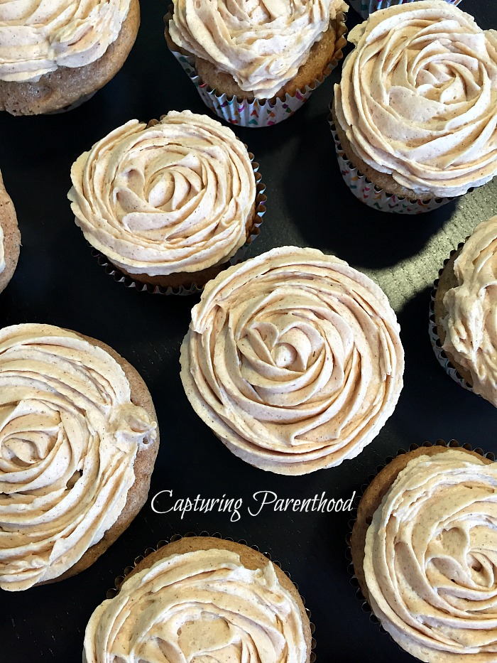 Churro Cupcakes © Capturing Parenthood