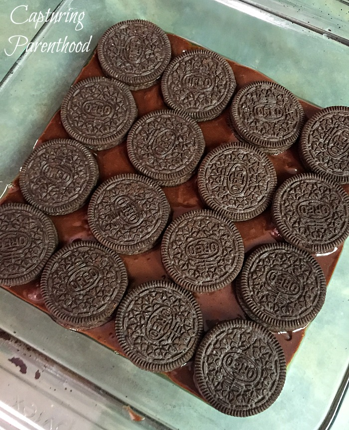 Oreo Fudge Brownies © Capturing Parenthood