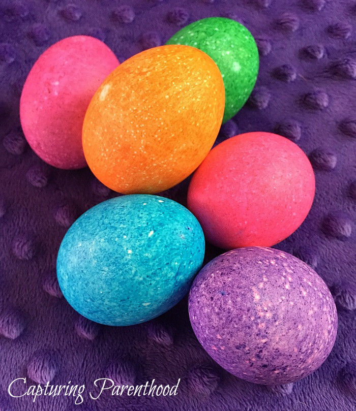 Easter Eggs Two Ways © Capturing Parenthood