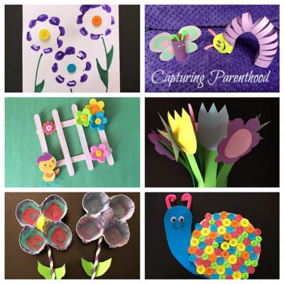 Springtime Toddler Crafts © Capturing Parenthood