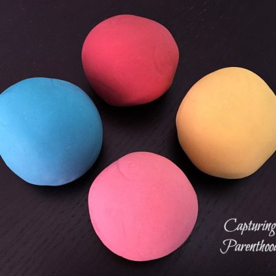 Springtime Kool-Aid Playdough © Capturing Parenthood