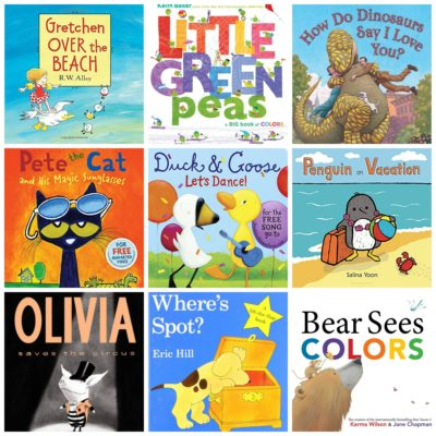 Our Favorite Book Series (Toddler Years)