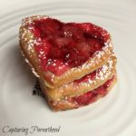 Strawberry & Cream Cheese Pastry Hearts