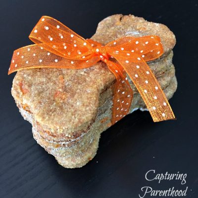 Carrot & Banana Dog Treats