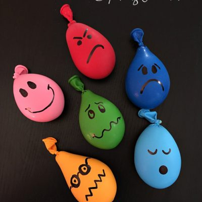 Playdough Stress-Ball Balloons © Capturing Parenthood