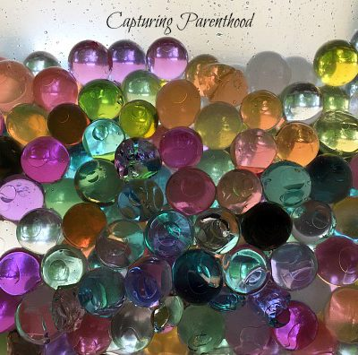 Water Bead Sensory Exploration © Capturing Parenthood