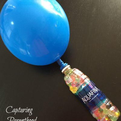 Water Bead Stress-Ball Balloon © Capturing Parenthood