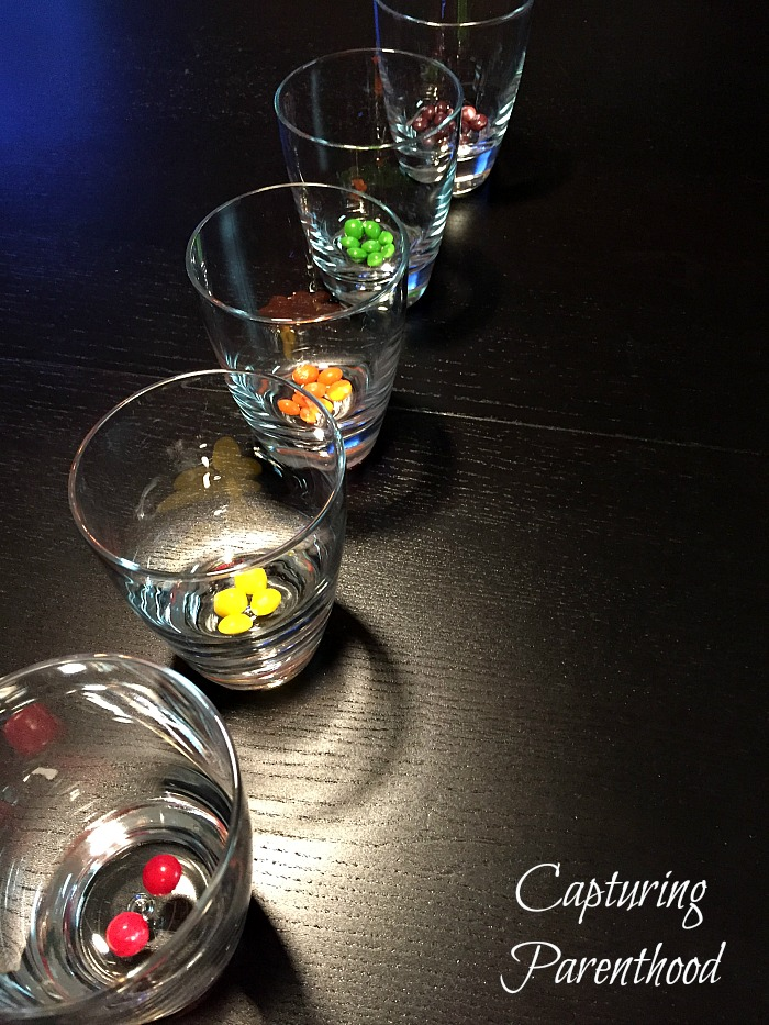 Colorful Skittles Experiments © Capturing Parenthood