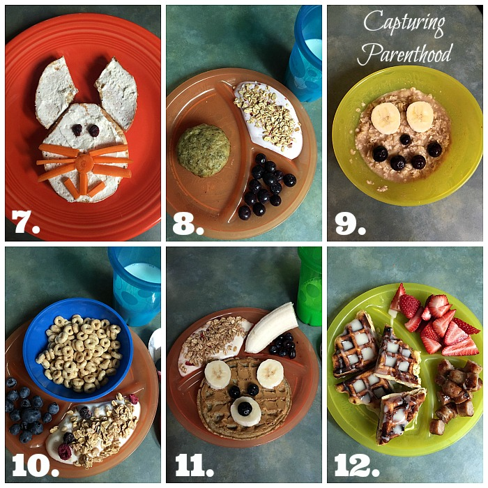 Toddler Breakfast Ideas © Capturing Parenthood