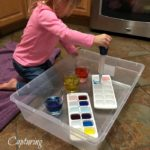 Color-Mixing Water Transfer
