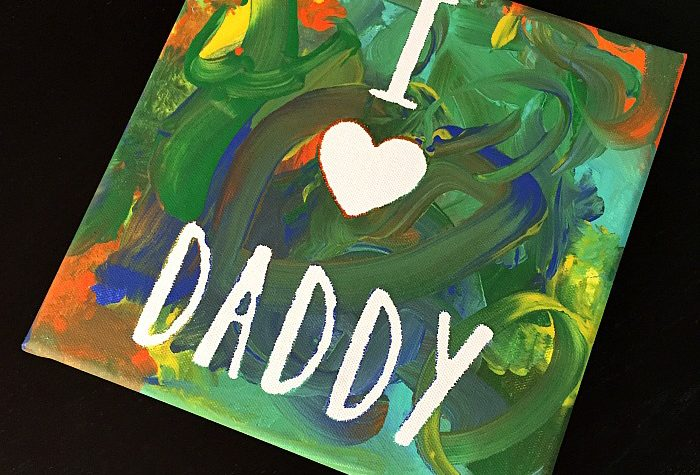 A Heartfelt Father's Day Craft