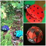3D Ladybug Crafts – Three Ways