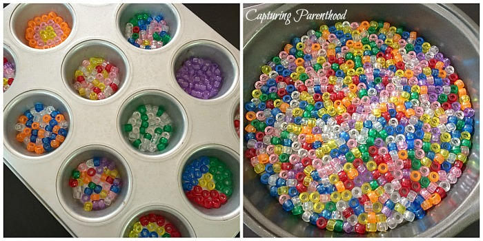 Melted Craft Bead Suncatchers © Capturing Parenthood