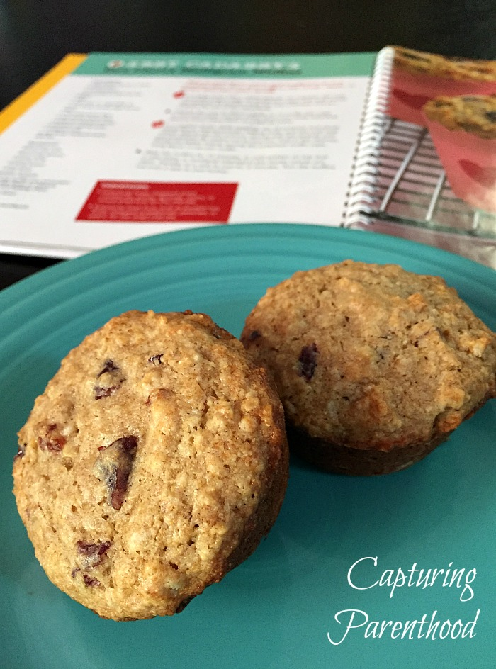 Cooking With Sesame Street - Cherry Multigrain Muffins © Capturing Parenthood