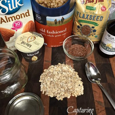 Overnight Oats © Capturing Parenthood