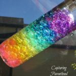 Rainbow Water Beads Sensory Bottle