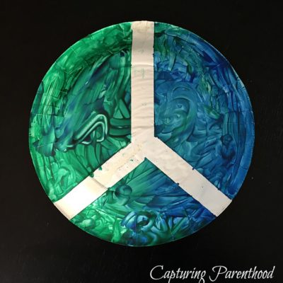 World Peace Paper Plate Craft