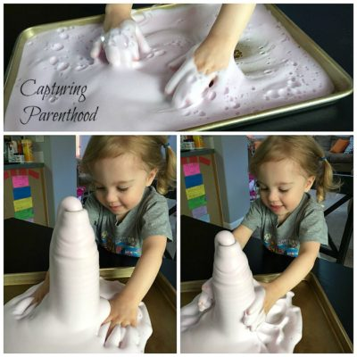 Foaming Fountain Experiment (Elephant Toothpaste)