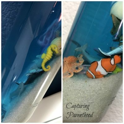 Ocean Creatures Sensory Bottle