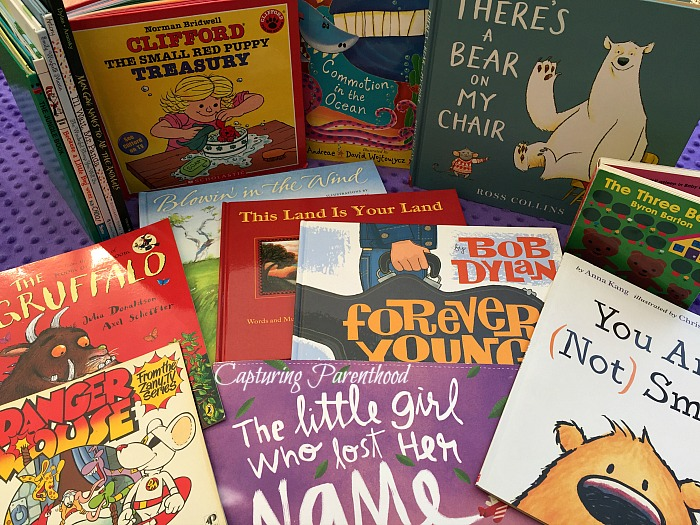 Our Favorite Books (The Third Year) © Capturing Parenthood