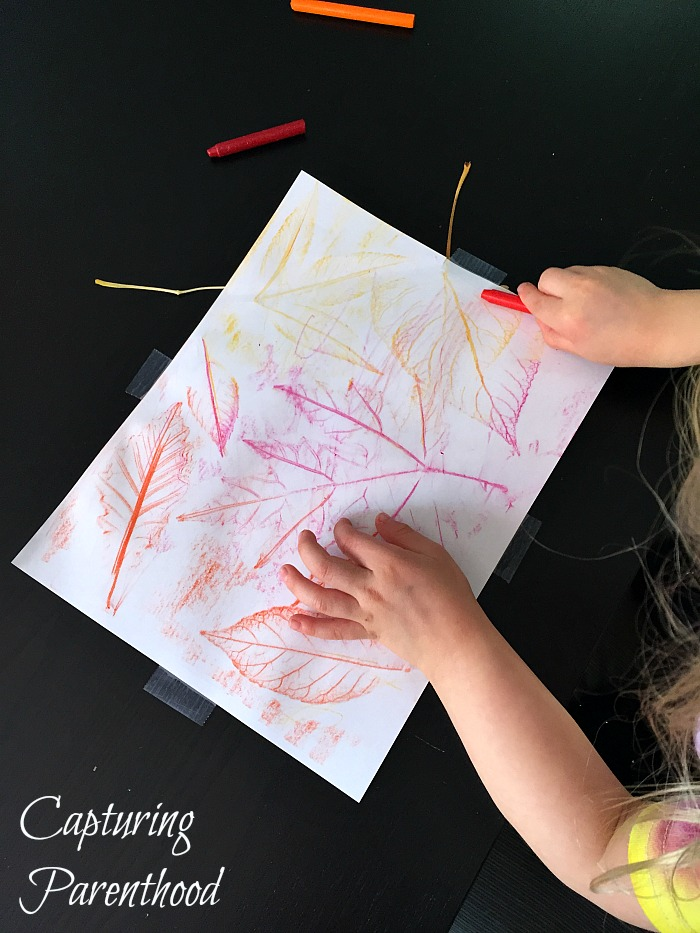 Fun Fall Leaf Projects © Capturing Parenthood
