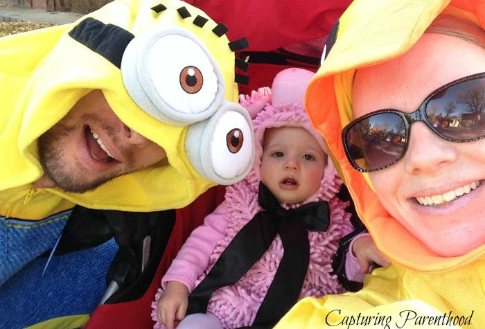 Family Photo Album: A Look At Halloweens Past © Capturing Parenthood