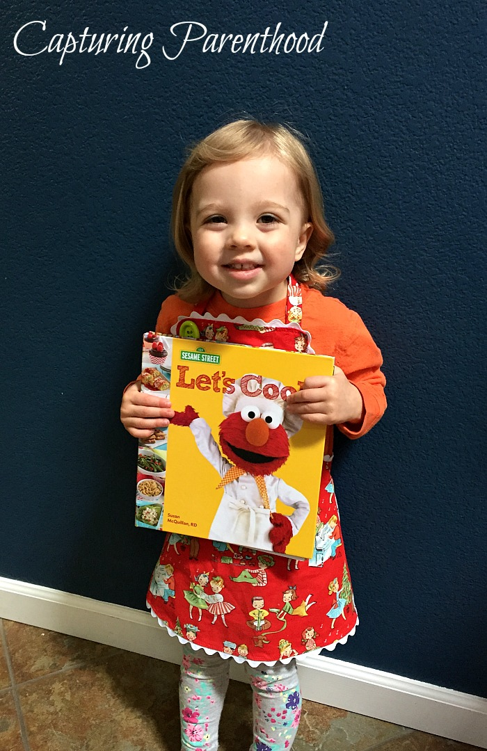 Cooking with Sesame Street - Cranberry-Apple Quinoa © Capturing Parenthood