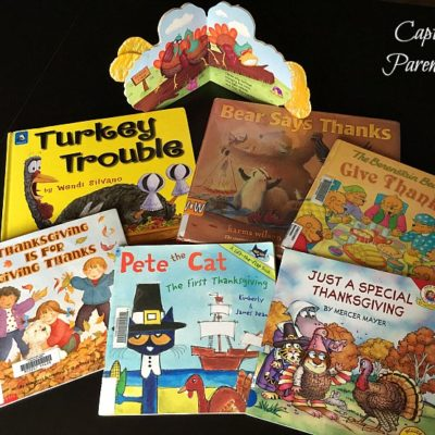Celebrating Holidays Through Literature - Thanksgiving 2017 © Capturing Parenthood
