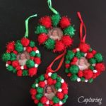 Pom Photo Ornaments