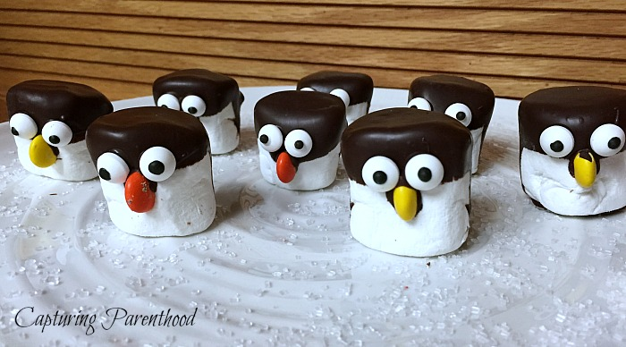 Marshmallow & Banana Penguins © Capturing Parenthood