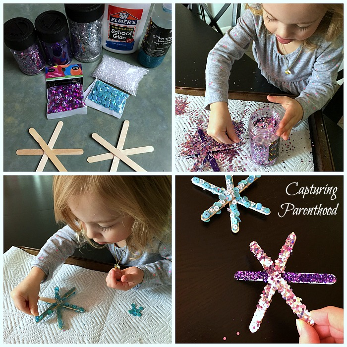 Winter Themed Arts Crafts For Kids Capturing Parenthood