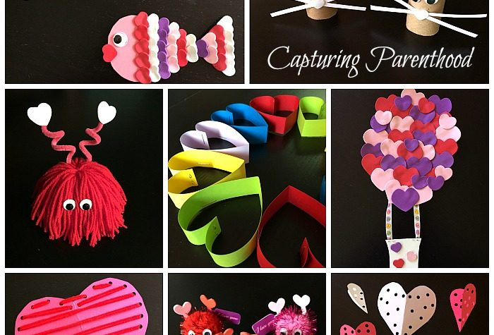 Heart-Filled Valentine's Day Crafts (2018)
