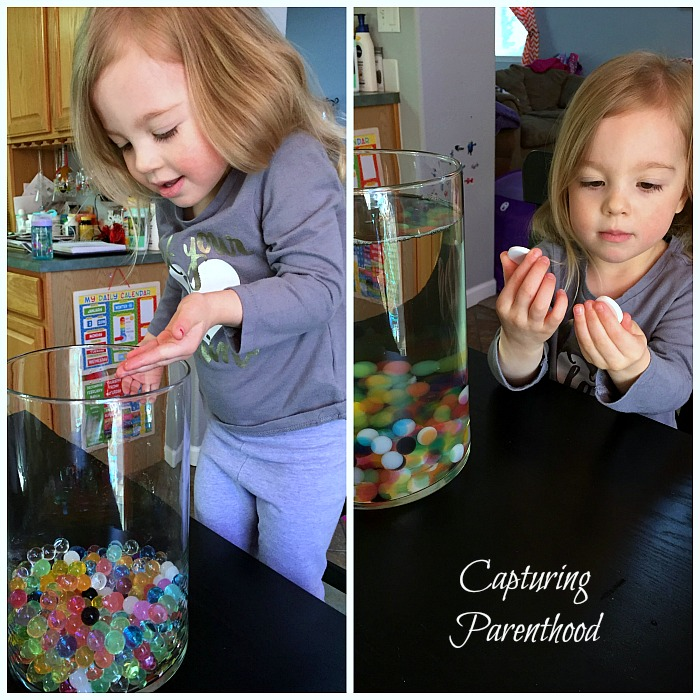 Water Beads Lava Lamp © Capturing Parenthood