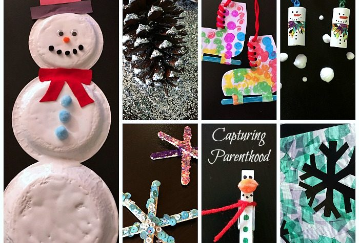 Winter-Themed Arts + Crafts for Kids