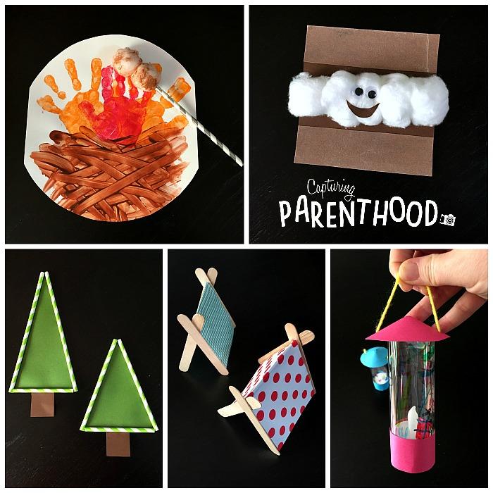 Camping Crafts For Kids Capturing Parenthood